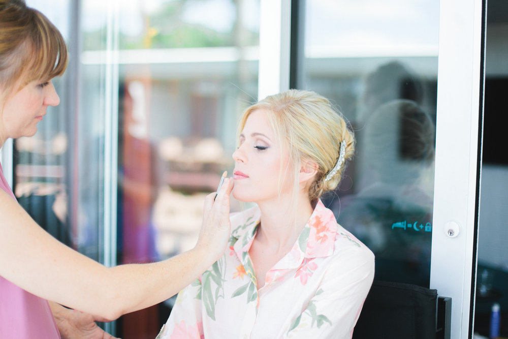 phoenix arizona wedding planner el chorro scottsdale choral bride makeup
