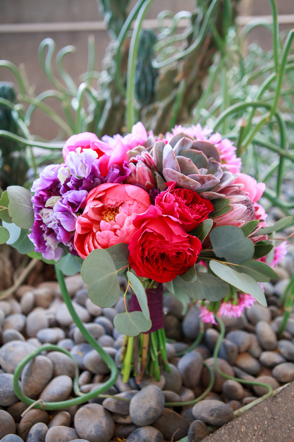 wedding, Arizona wedding, art museum wedding, wedding planner, wedding lighting, Phoenix-Scottsdale-Arizona-Wedding-Planner-Wedding-Venue-Destination-Wedding-Planner, wedding bouquet, succulent, peony, bouquet