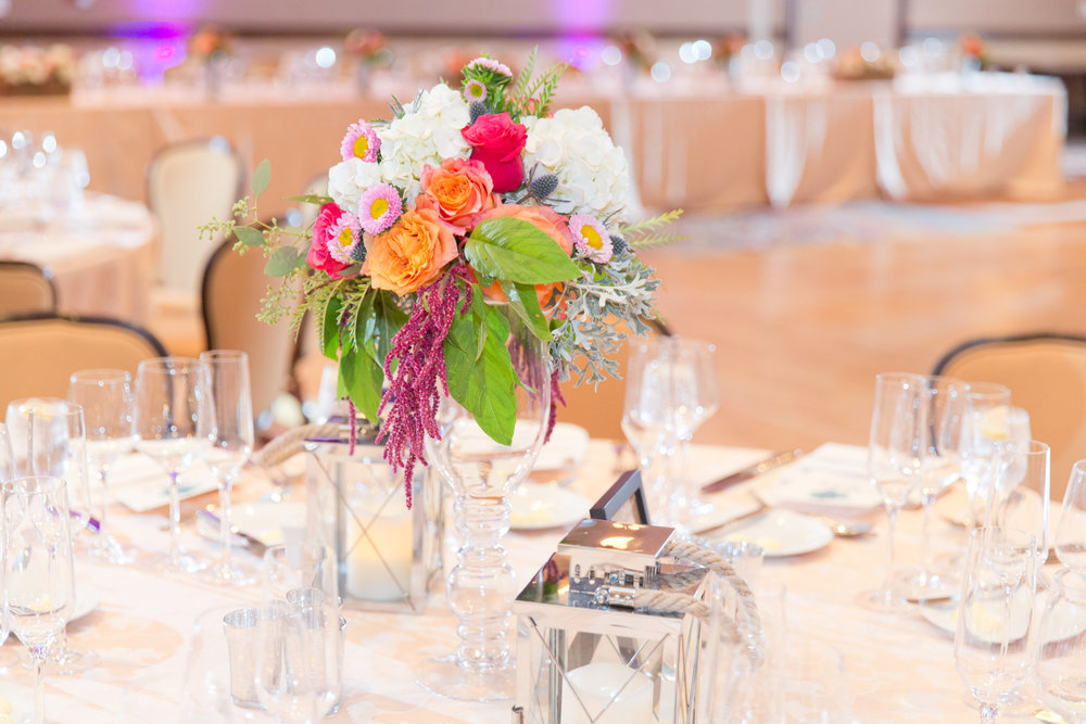 Phoenix-Scottsdale-Arizona-Wedding-Planner-Wedding-Venue-Destination-Wedding-Planner, Omni Montelucia weddings, sunset weddings, Arizona Sunset weddings, wedding details, succulent bouquets, pink orange green blue bouquets, wedding reception centerpiece, wedding centerpiece, wedding flowers