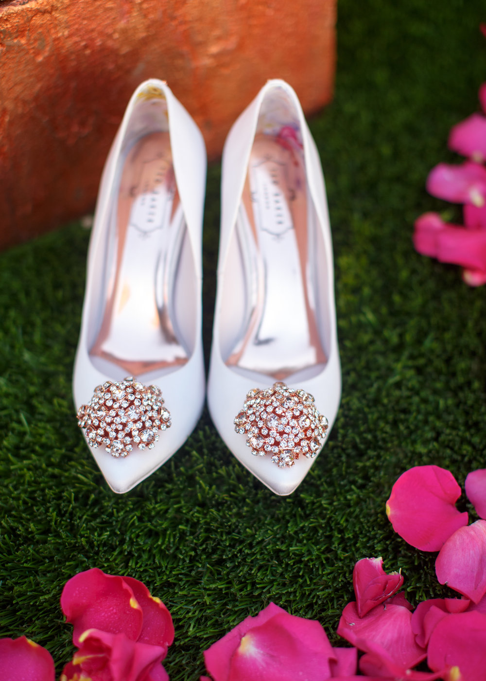 wedding shoes planner arizona wedding