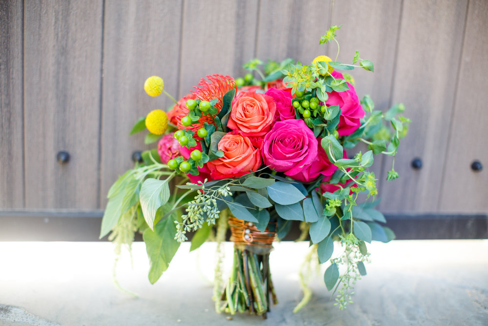 wedding bouquet bright bridal bouquet arizona wedding succulent