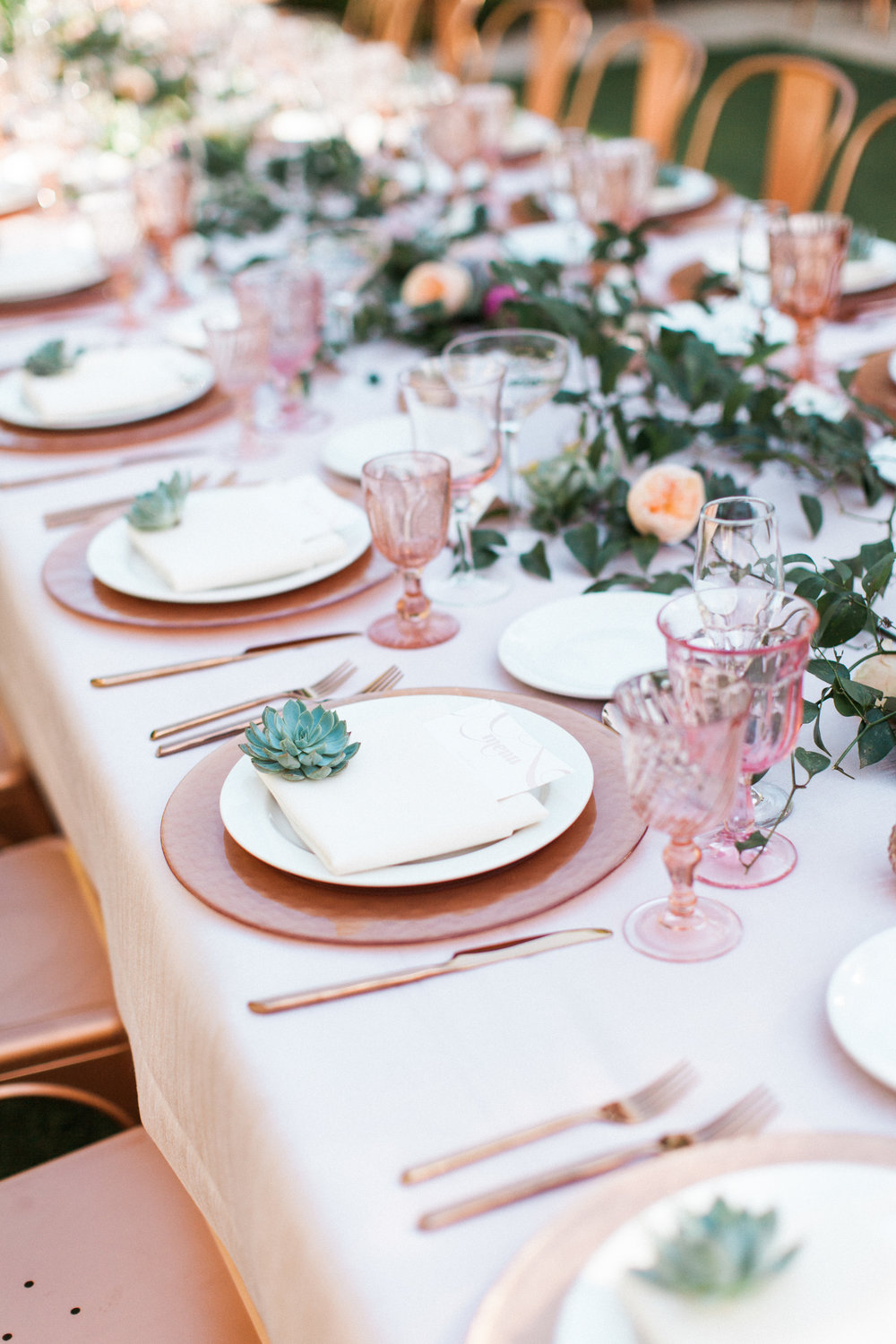 wedding decor, wedding planner, phoenix wedding, scottsdale wedding, arizona wedding, arizona wedding planner, destination wedding, wedding reception, copper wedding, rose gold wedding, succulent wedding, succulent wedding