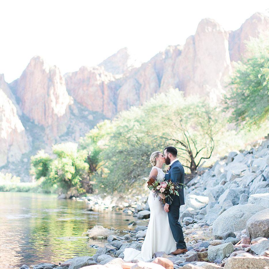 brittany & ryley - Saguaro Lake RanchAndrew Jade Photography