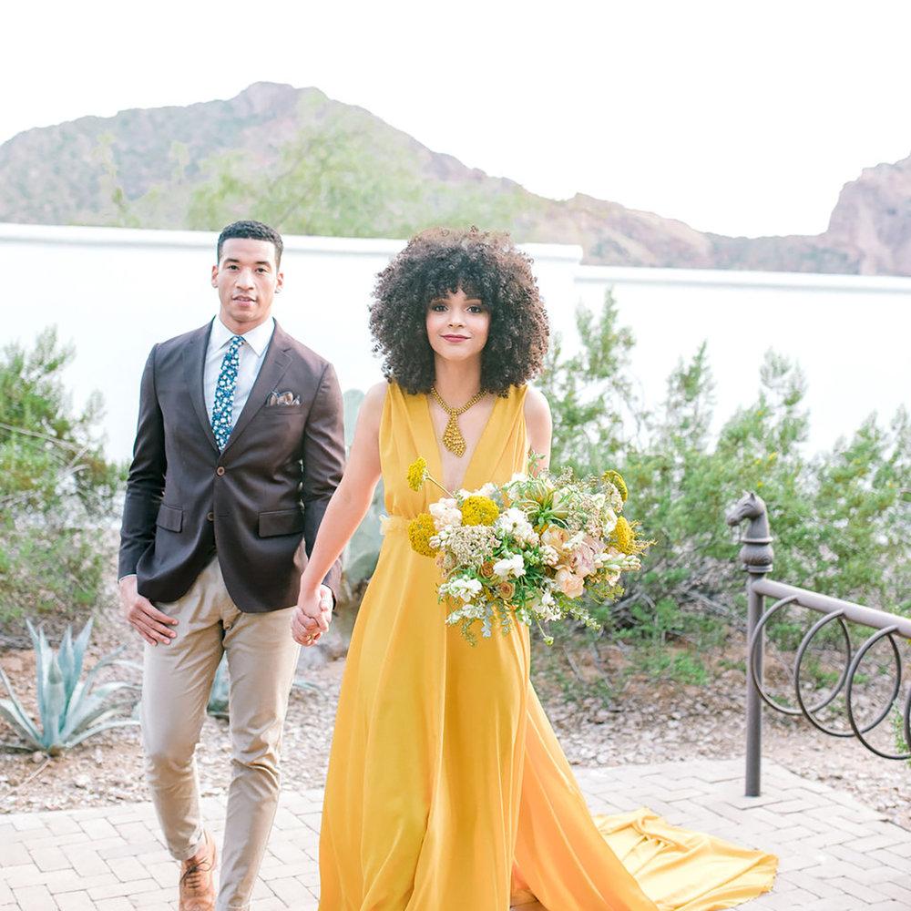 elopement at el chorro - Marisabelle Photography