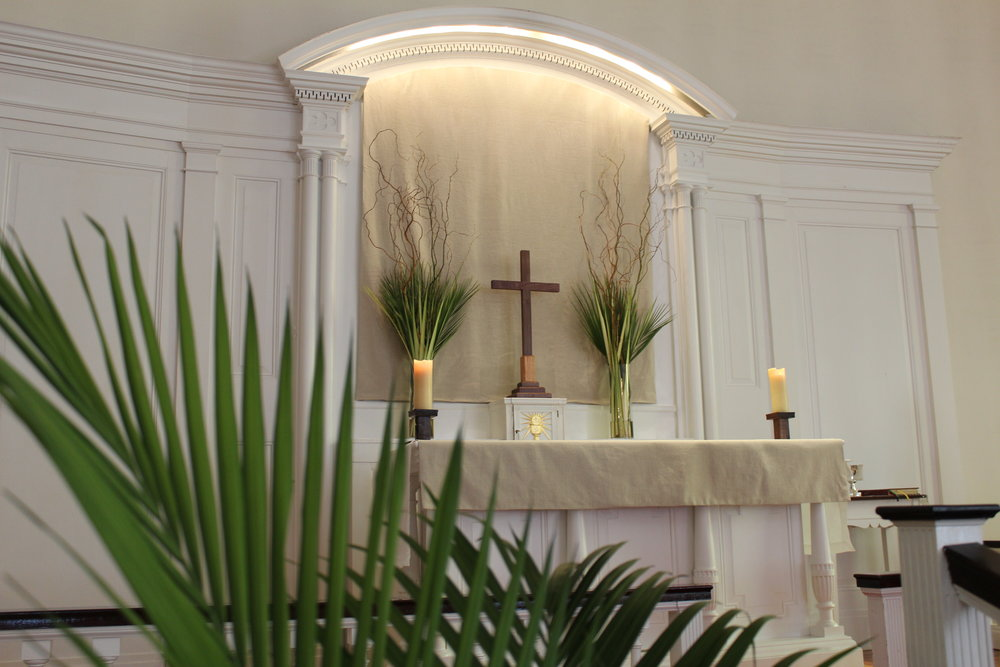 Copy of Lenten Array with Palms
