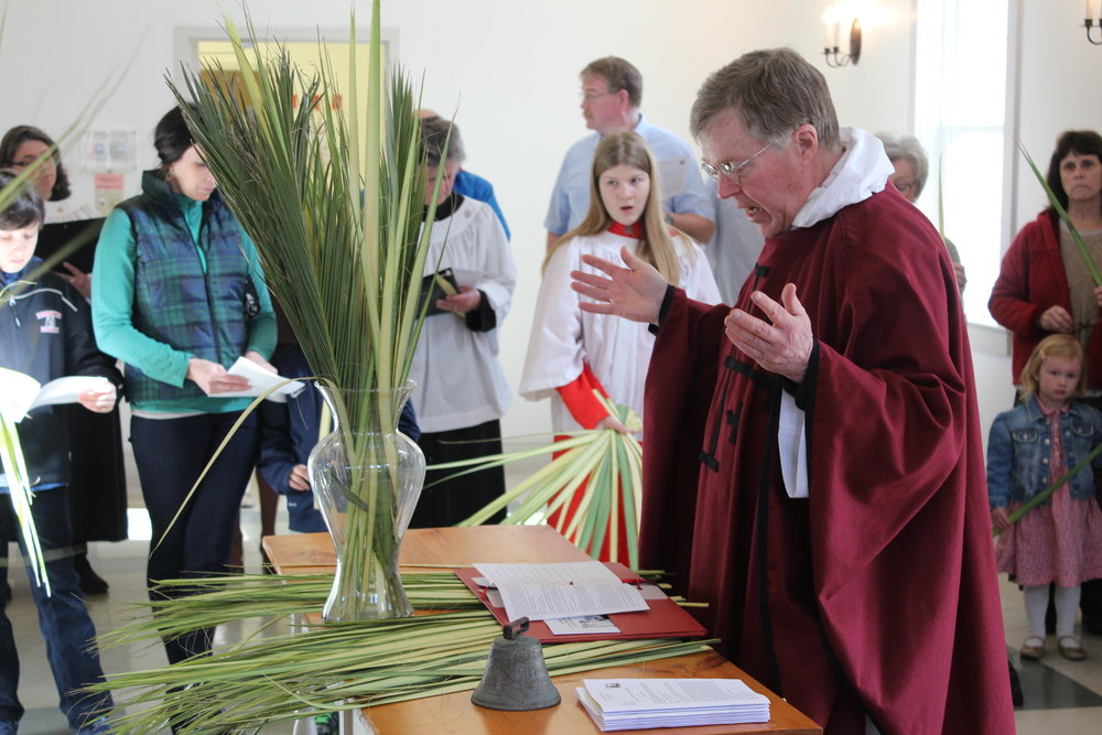 Copy of The Blessing of the Palms