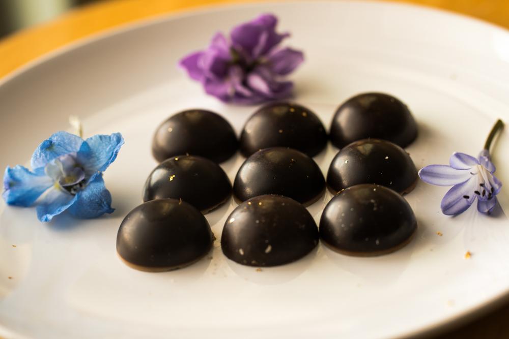 Carob Mint Truffles