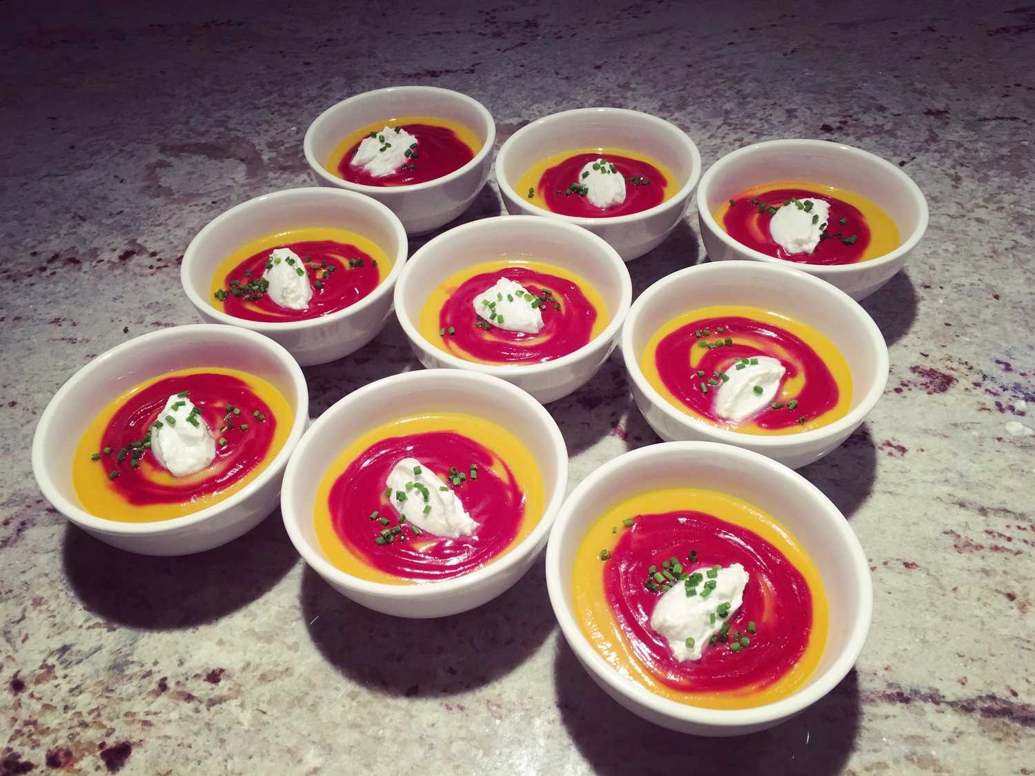 Cooking for Terry Wahls + Curried Beet Gazpacho — Chef