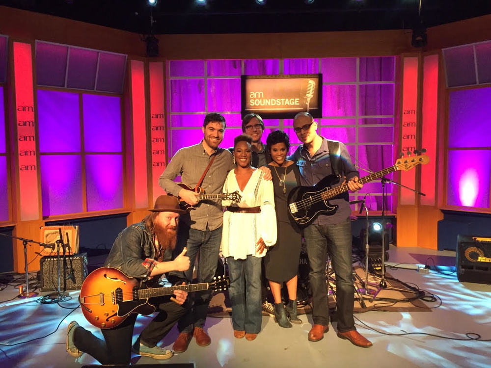 Dione Taylor band on Canada AM
