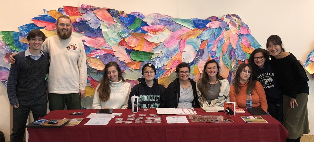 Endicott College's Art Club -
