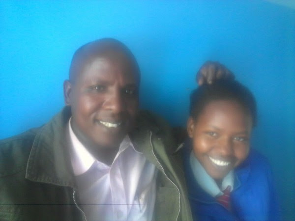 Daniel Sempui (left) and Esther Tanin (right) -