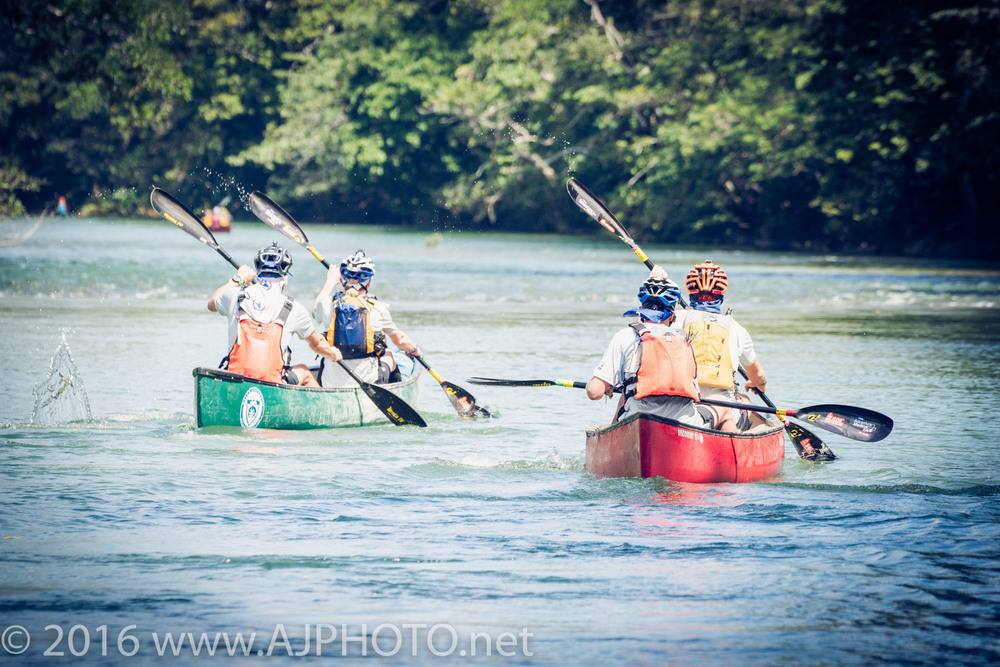 Starting the paddle on the Mopan River