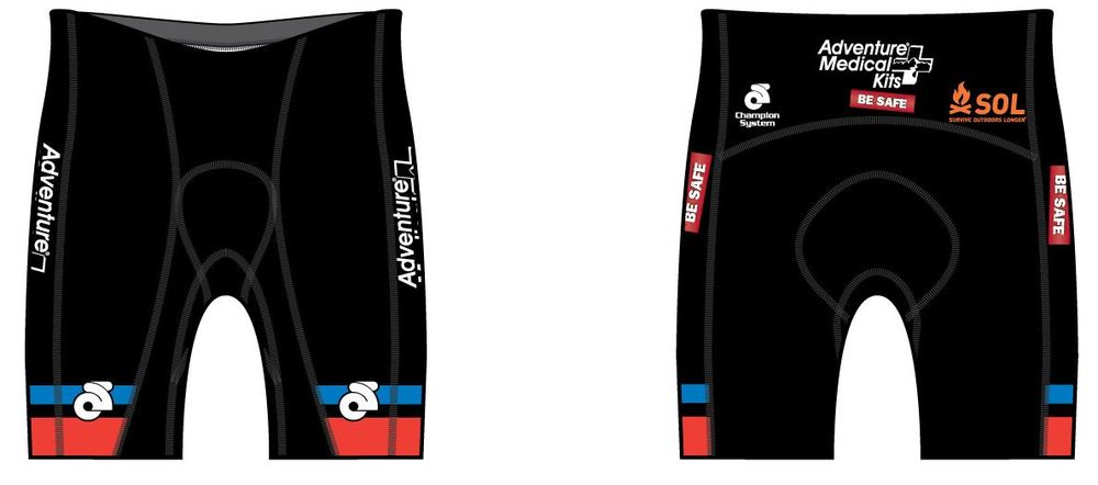 Performance Link Tri Shorts ( M's and W's sizing)  $48. Click on image for more details including a size chart.