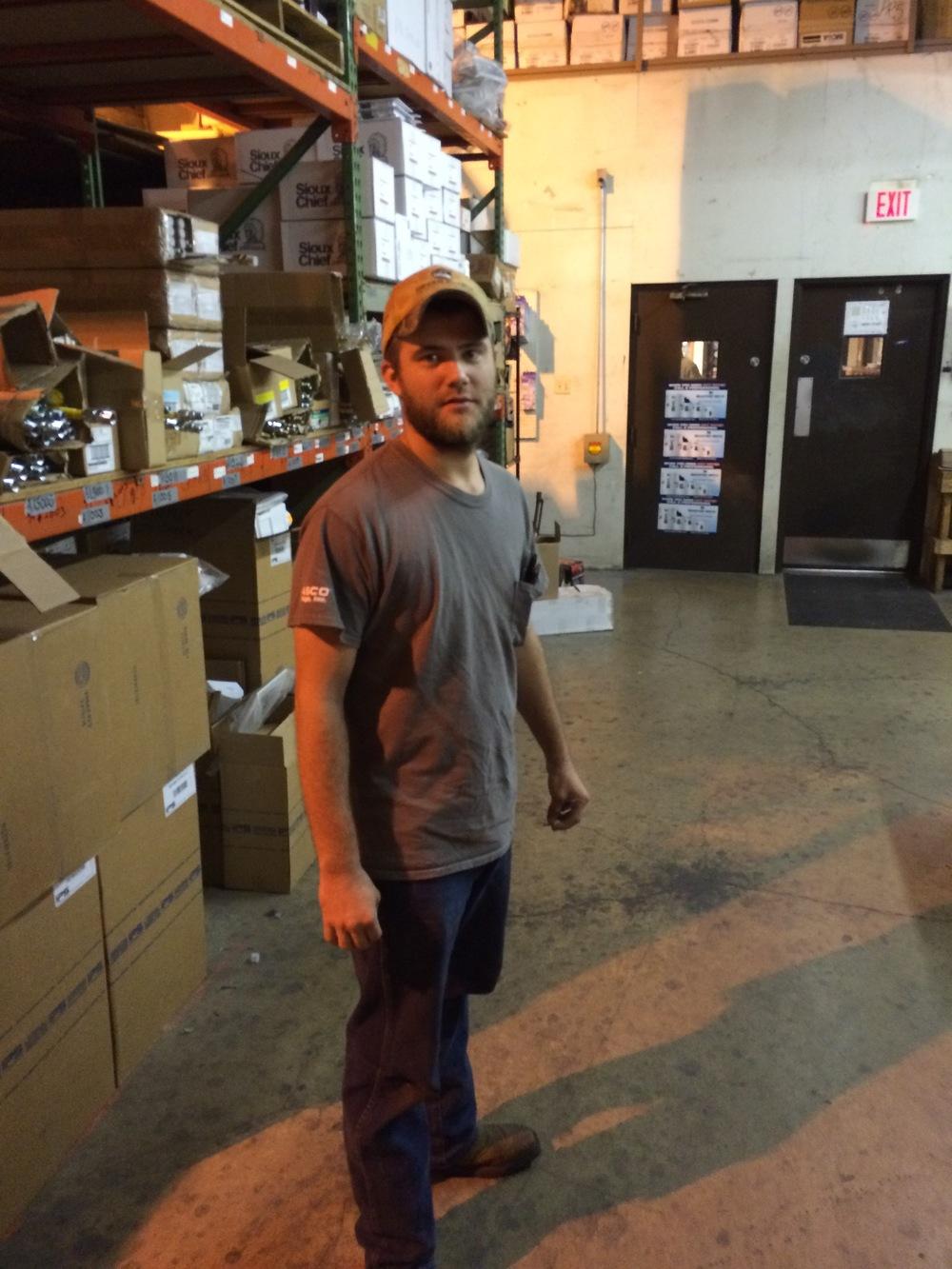 Justin Kowaleski - warehouse.JPG