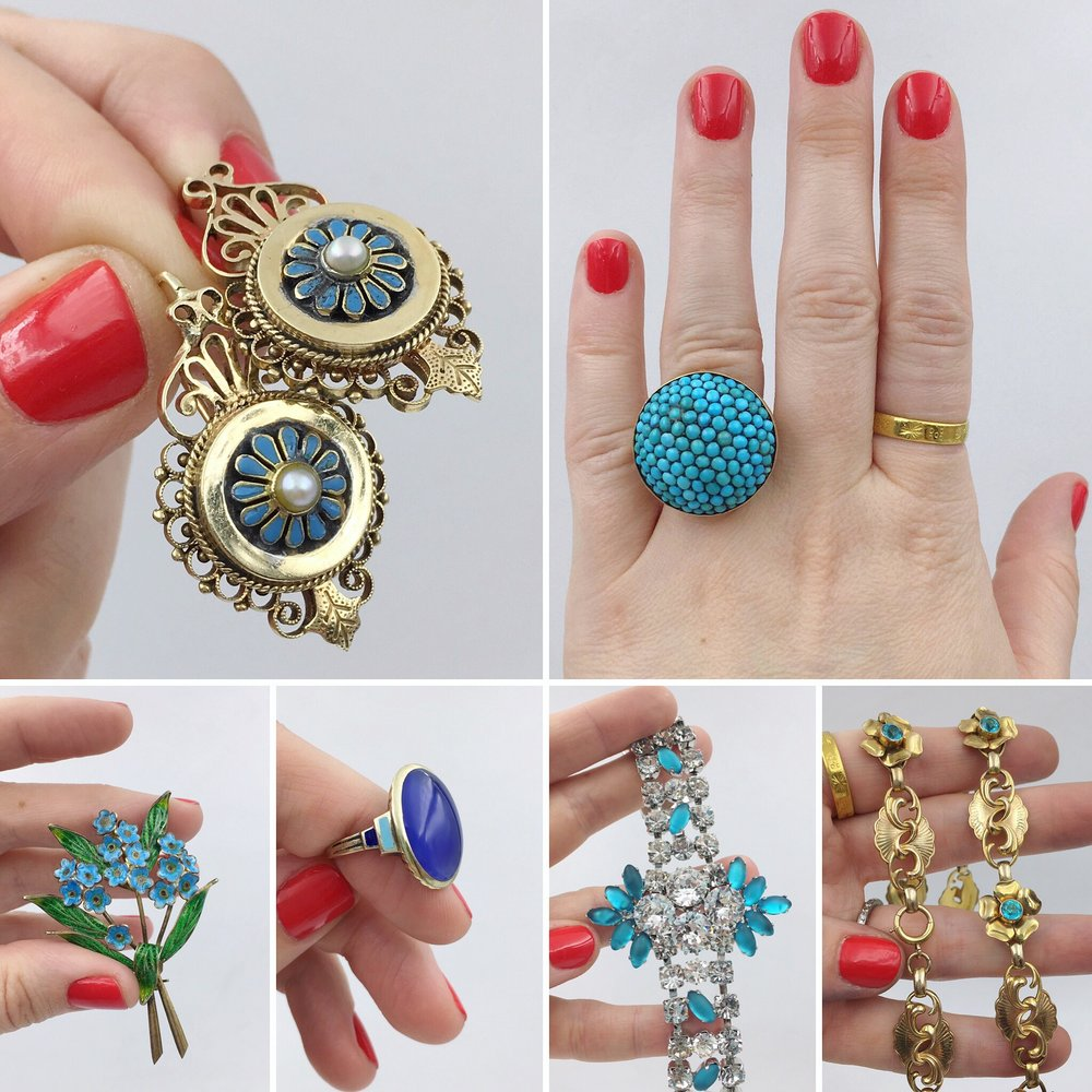 Best antique jewelry NYCoriginal Miami Beach antique show Reverie vintage and estate jewelry