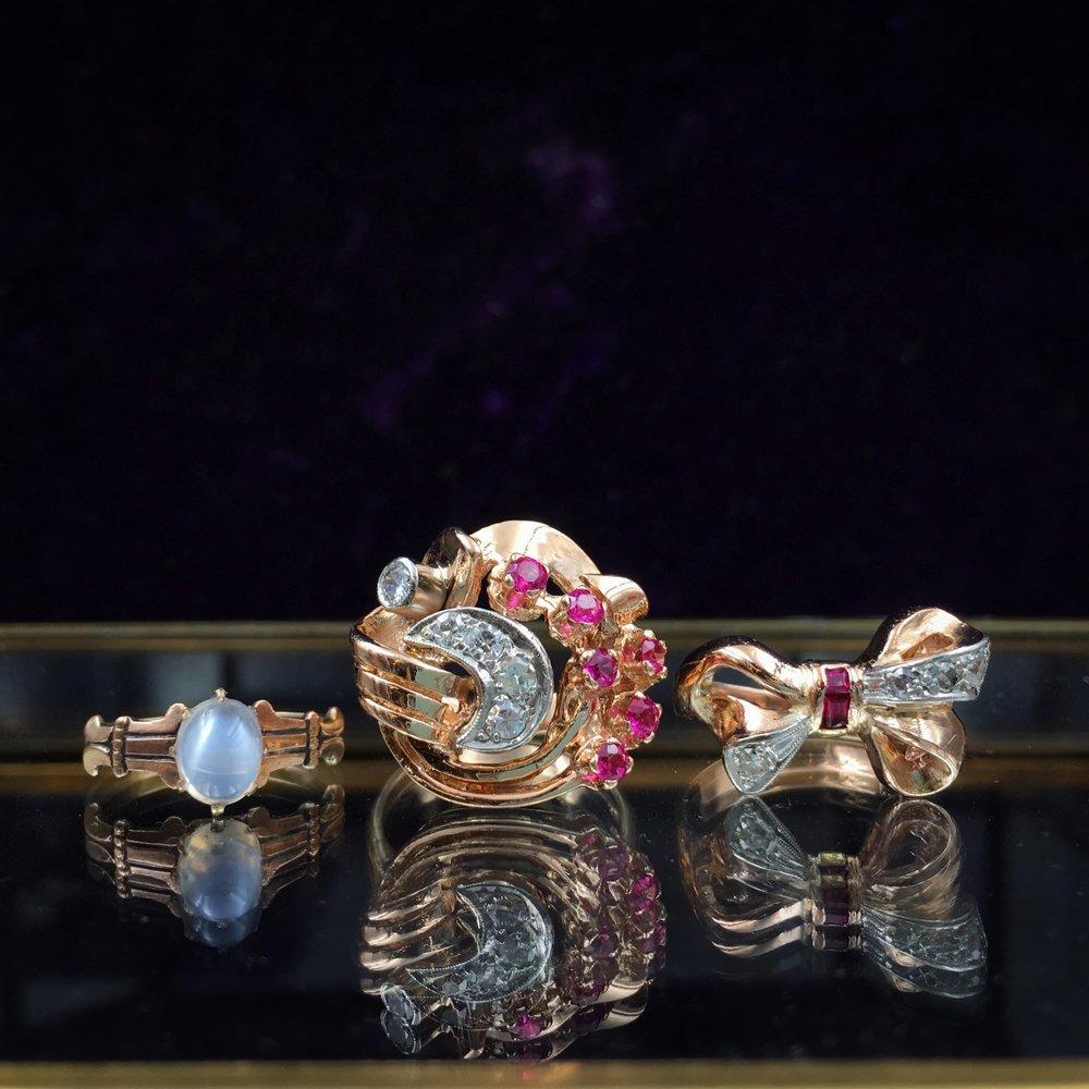 Vintage rings NYC