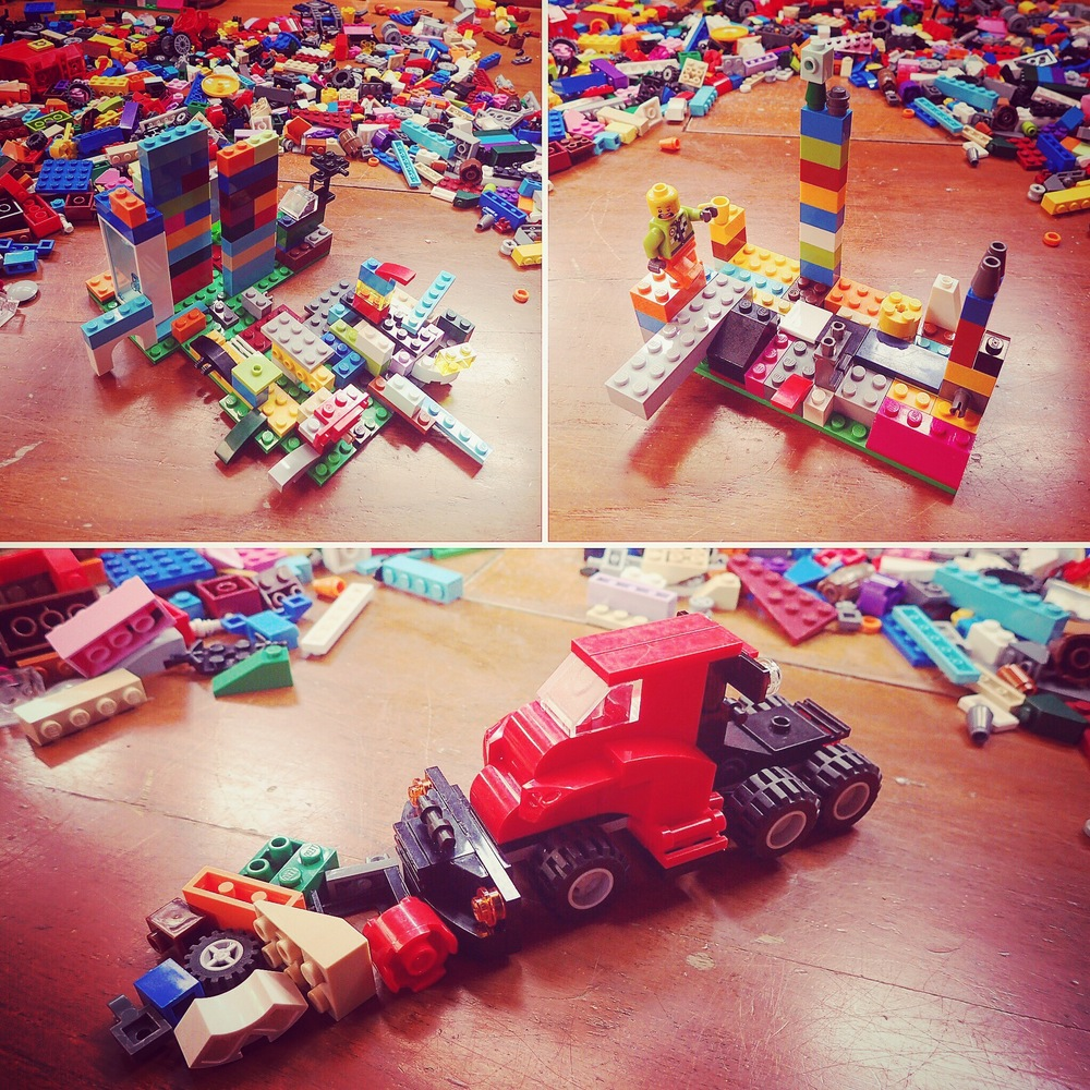 Legos. I don'y know where'd we be without 'em...