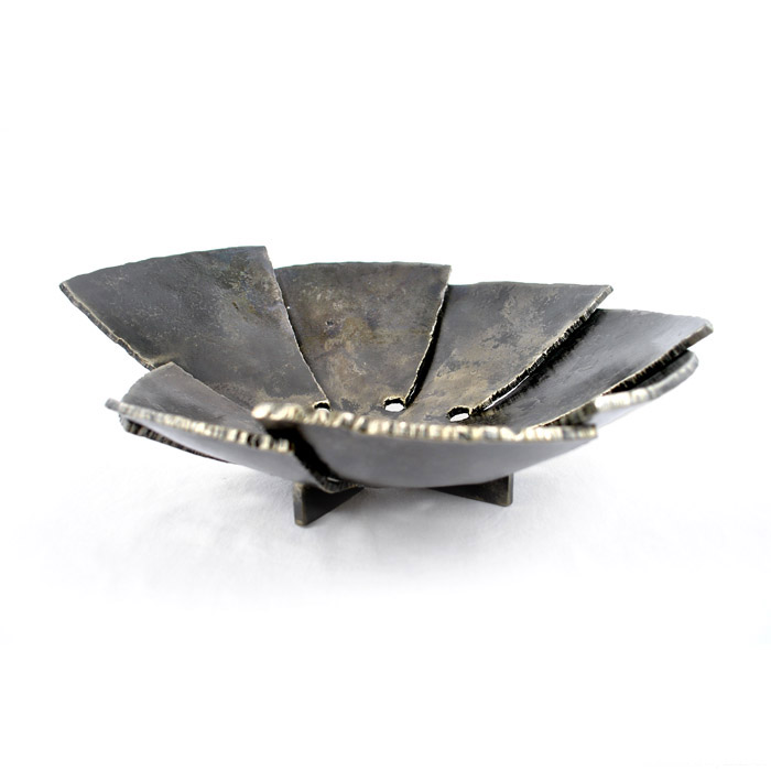 Tectonic - Forged steel bowl