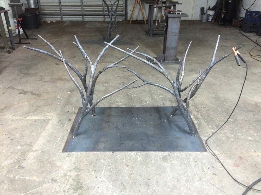 Blackthorn Four Leg Console