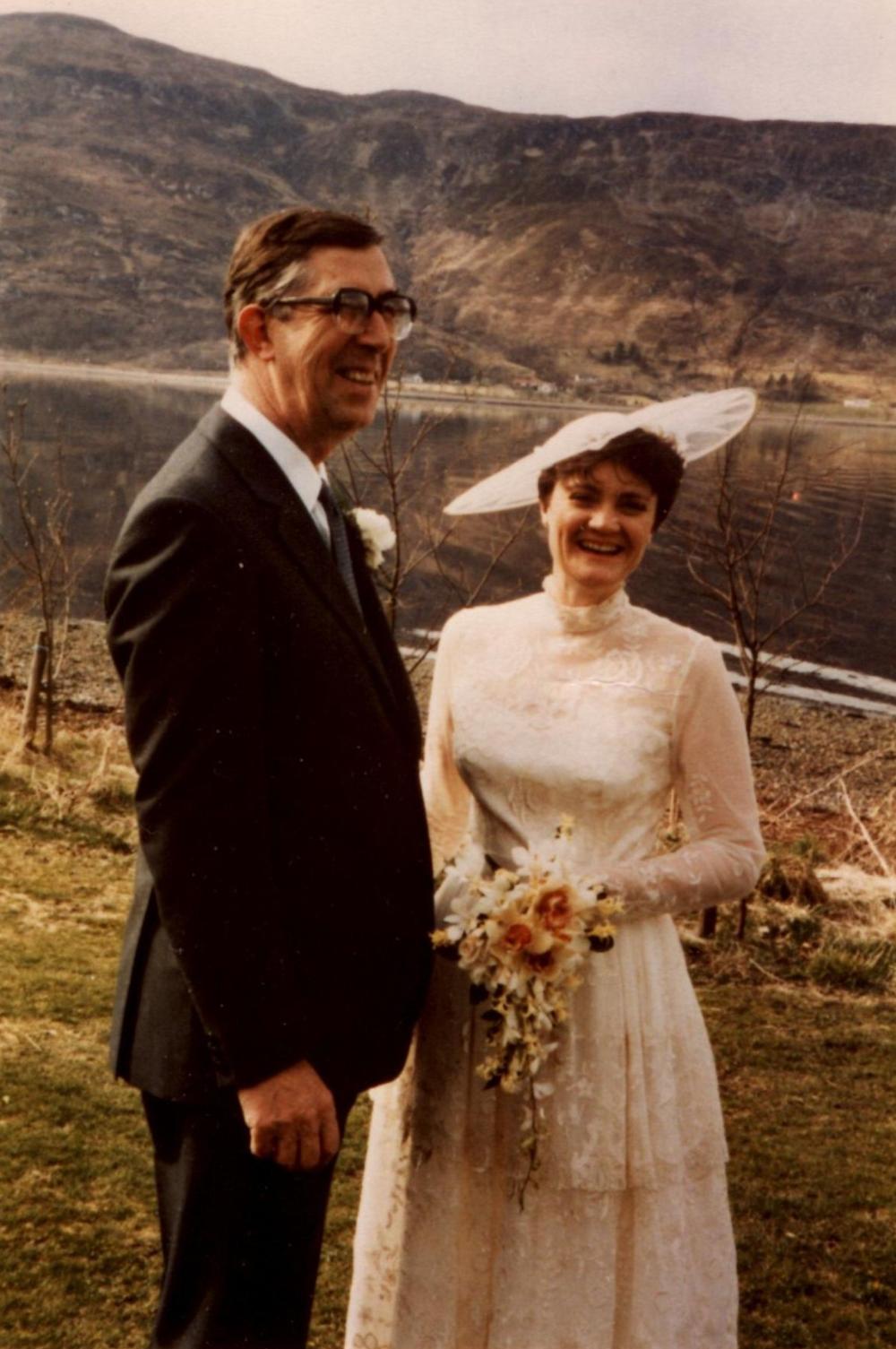 Ron and Allana, 1985
