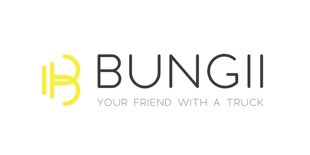 Bungii Logo Horizontal Full Color