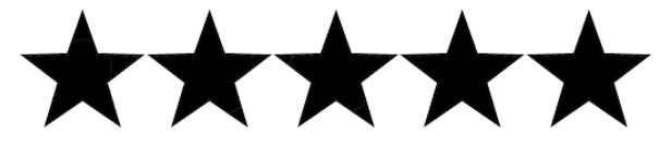 5 Star Ratings - Javier D. - 100%Ricky R. - 100%Walter S. - 89%Jose C. - 83%Justin G. - 80%