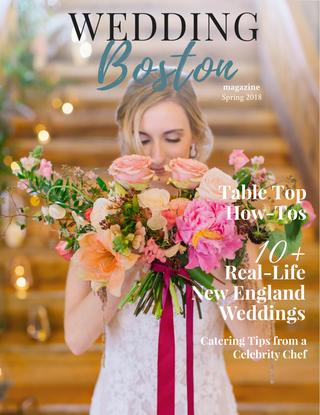 Our wedding at Sprindale Brewery featured in the Spring 2018 issue! -