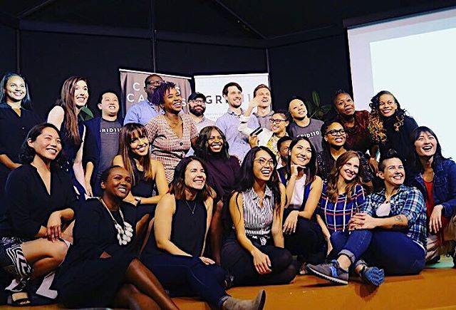 Blessed to work with the best. Team, partners, mentors, companies: we are so fortunate @grid110 to be surrounded by creative, passionate, ambitious, dedicated, giving humans. And I always always always love that that these group photos reflect the true diversity of our city, both in founder and their businesses 🥰 Congrats to the latest cohort of 15 companies to complete the program, now officially #grid110alumni 🙌🏼🙌🏼 📷: @littlelizzywallace