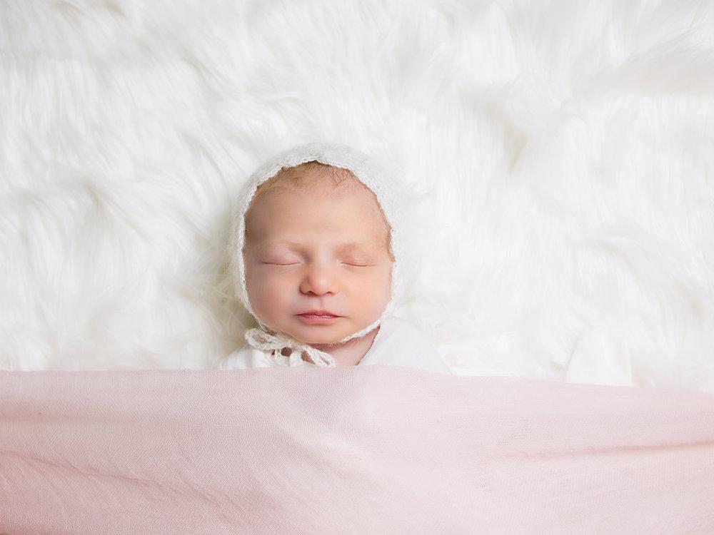 Newborn baby girl Newport Beach
