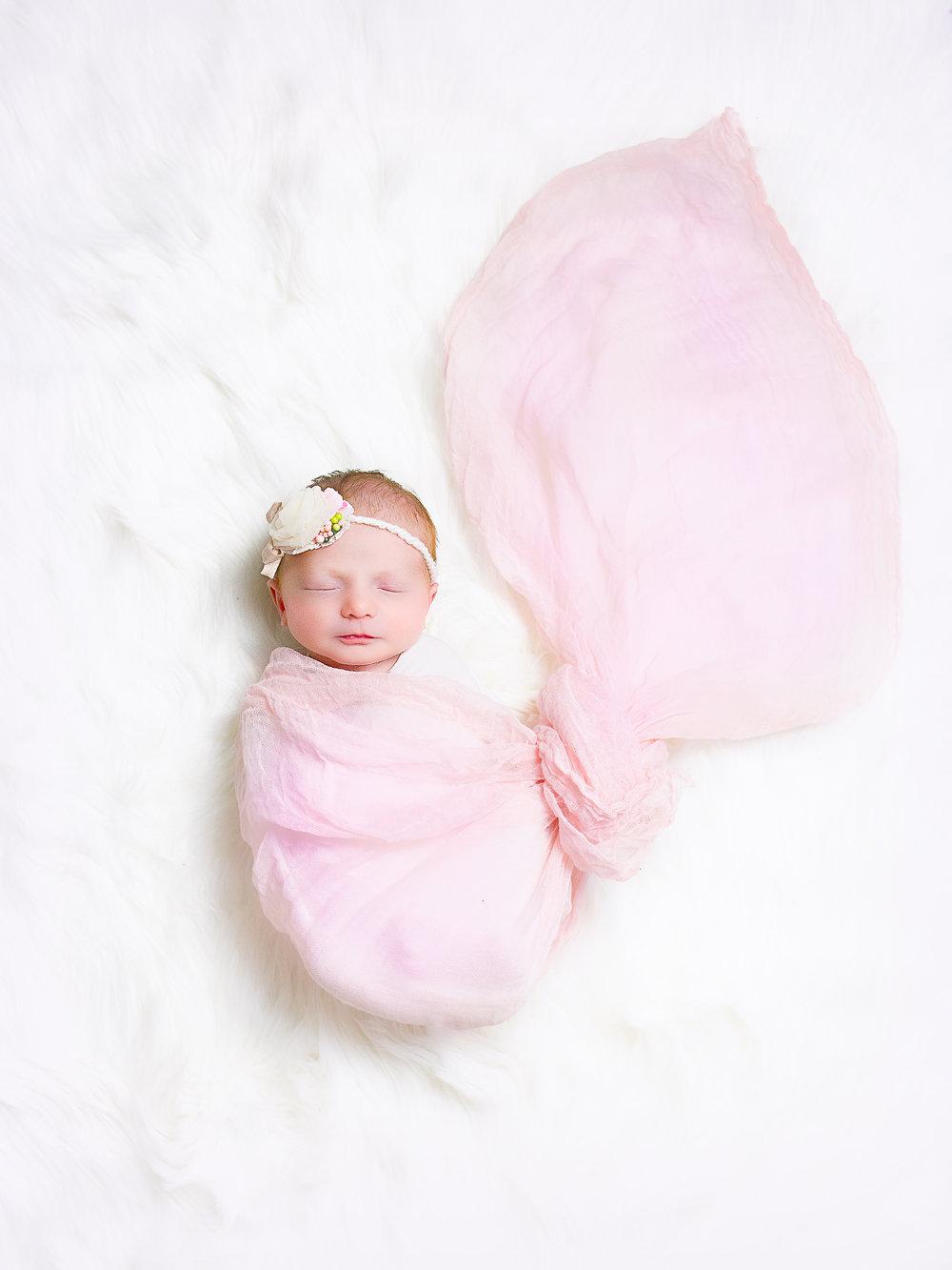 baby girl newborn newport beach