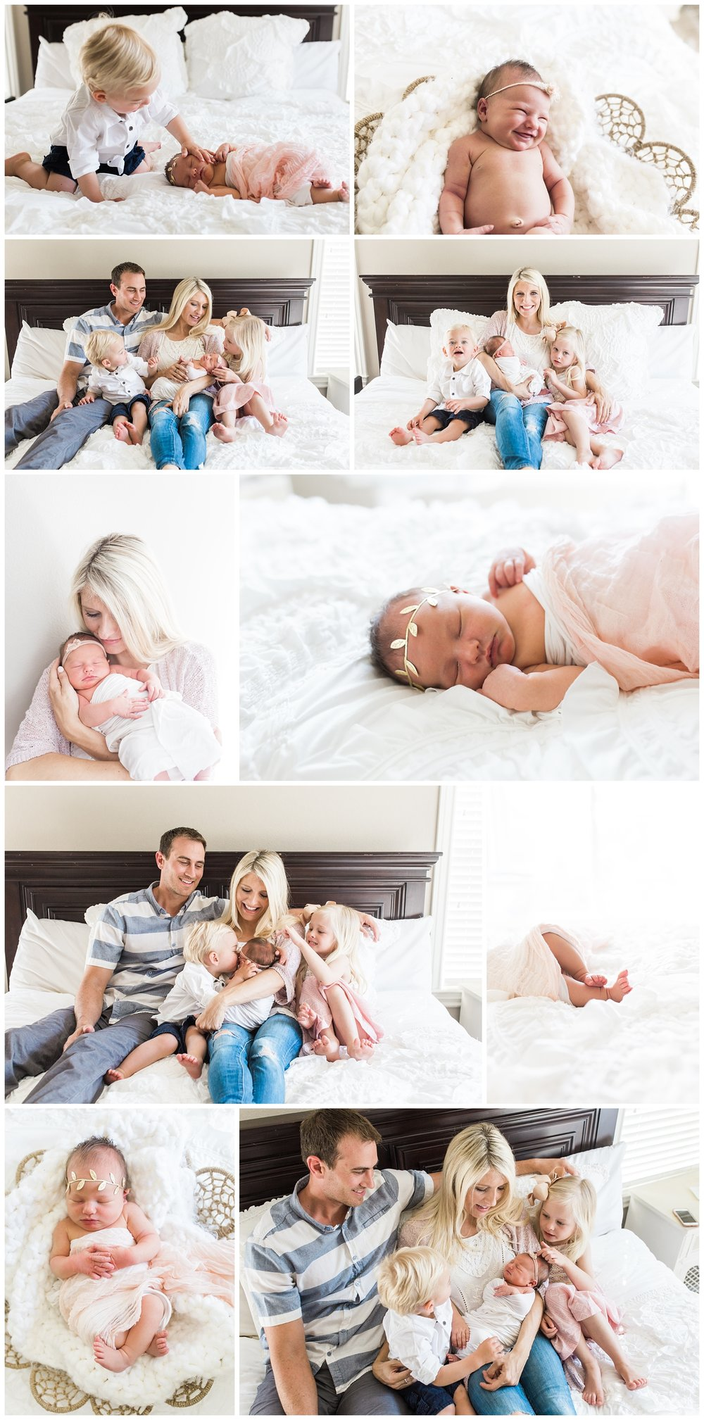 maternity and newborn lifestyle session, orange county photographer
