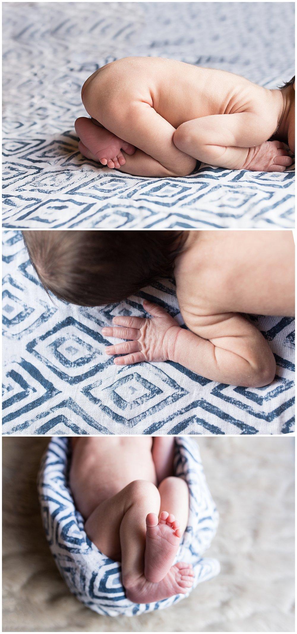 newborn photography details san clemente