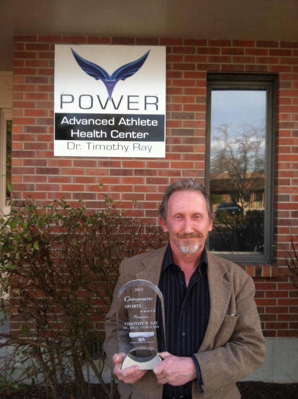 Dr. Tim Ray - Colorado Sports Chiropractor of the Year 2013