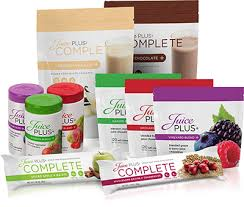 Juice plus offers an assortment of bars and powders to supplement the basic daily supplements.