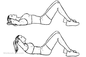 The crunch is a good exercise that isolates the rectus abdominals without engaging the psoas, as long as the shoulder blades remain on the floor, with trunk flexion.