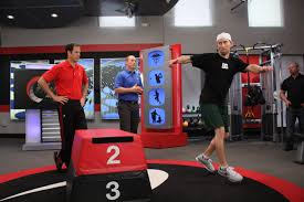 A couple of the TPI stalwarts Greg Rose and Jason Glass rehabbing a golfers biomechanics