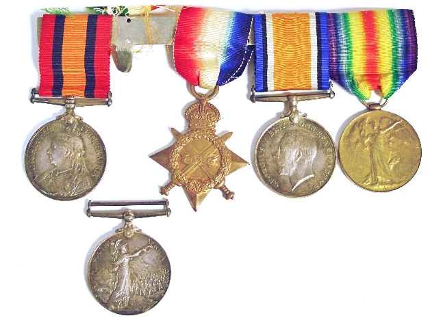 Sold For £5,000  A group of WWI Nurse's service medals awarded to Nursing Sister G. Black, later Sister G. M. Craik