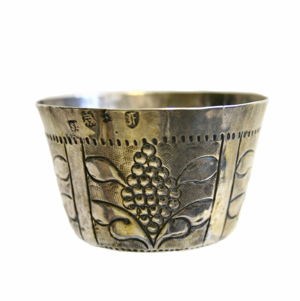 Sold For £2,600  Charles II small silver cup, London 1663
