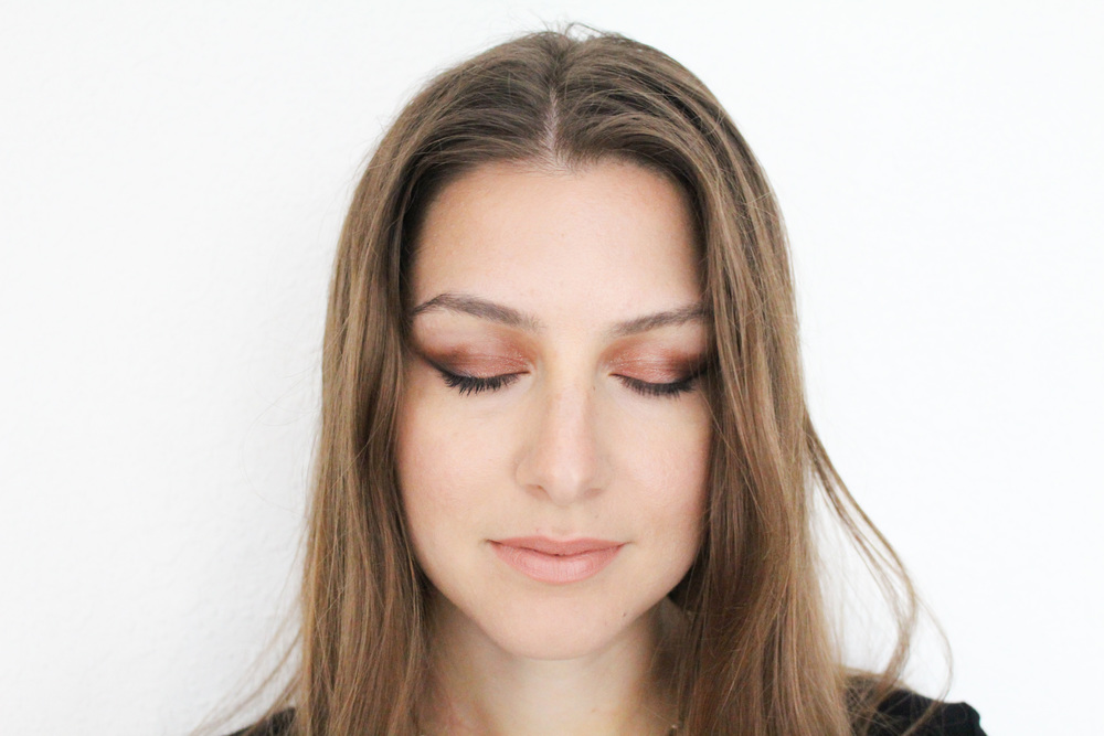 BEFORE: A FULL FACE OF MAKEUP (CONTOUR AND THE WHOLE NINE YARDS)