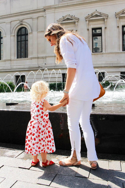 A NEW YORK MINUTE / mom style / all white / nicolemcaruso.com