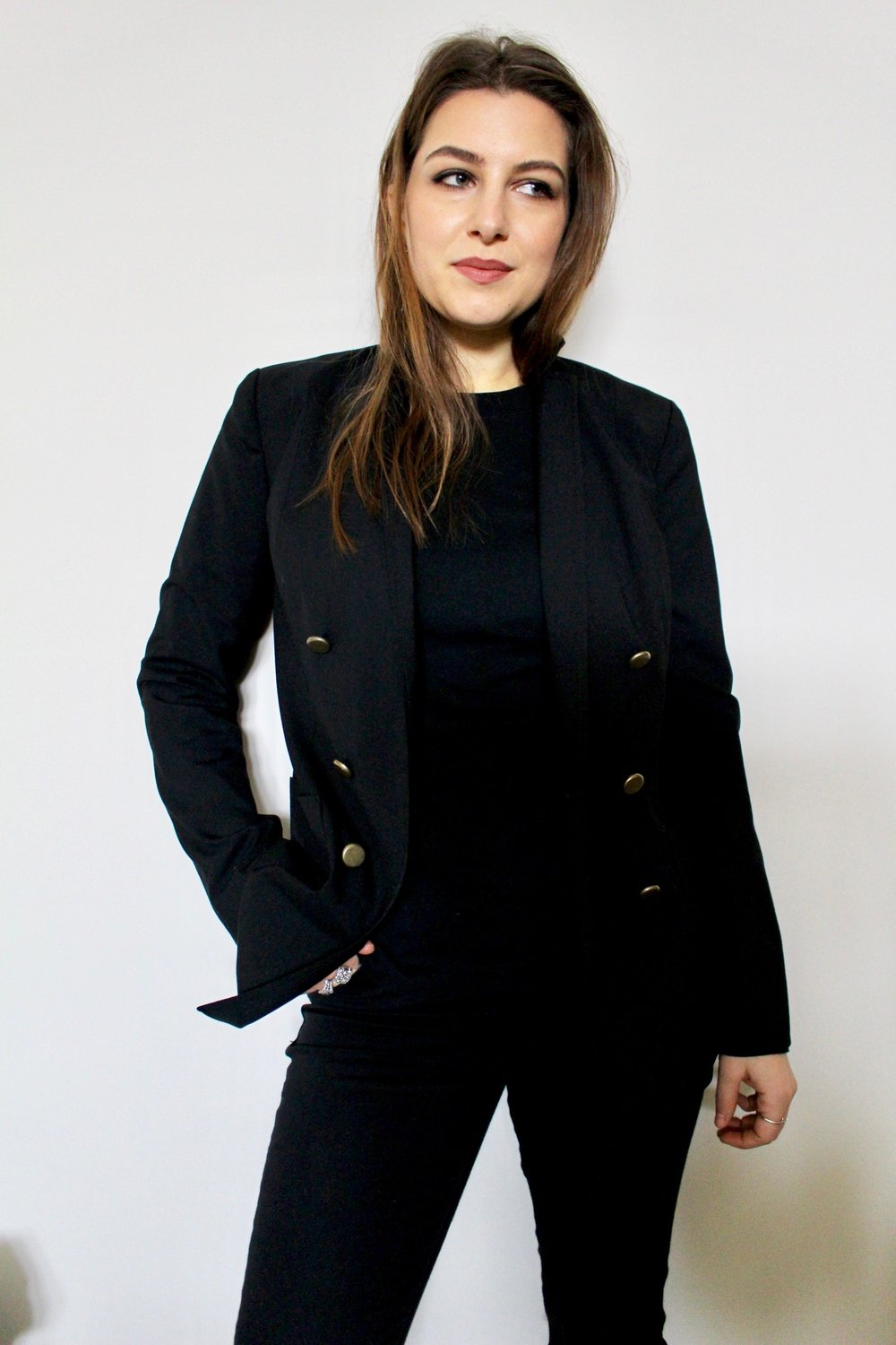 all black / self-imposed uniform / nicolemcaruso.com