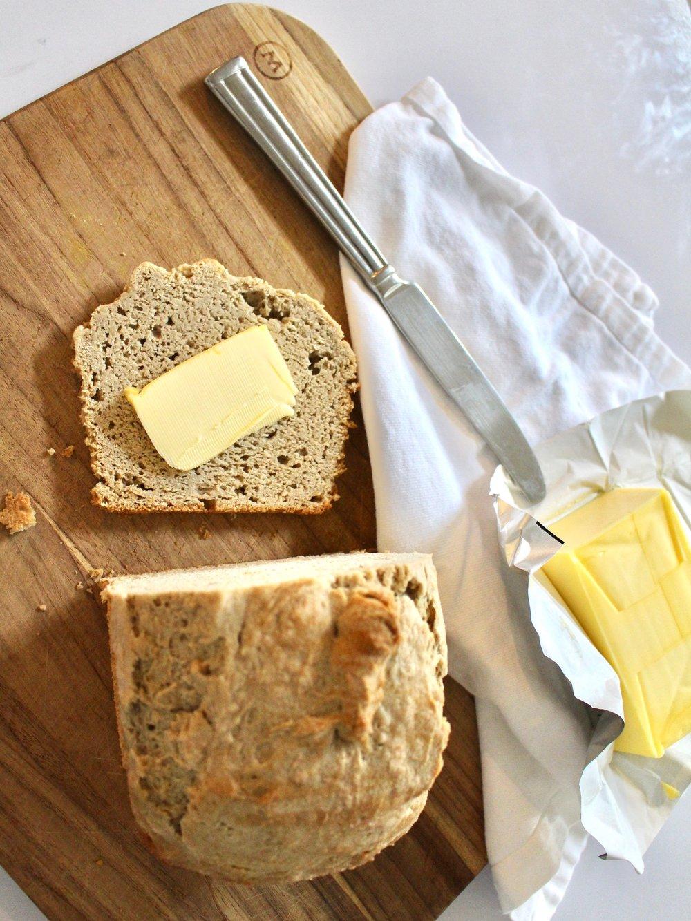 JOVIAL GLUTEN FREE SANDWICH BREAD / nicolemcaruso.com