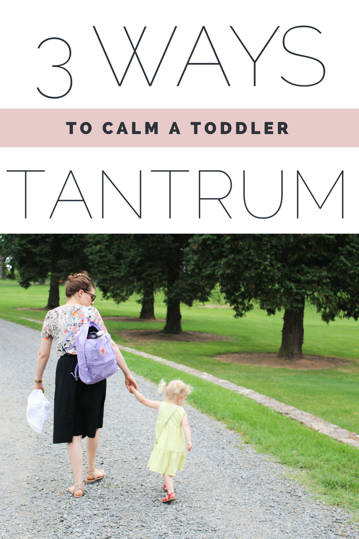 3 WAYS TO CALM A TODDLER TANTRUM / MOTHERHOOD / nicolemcaruso.com