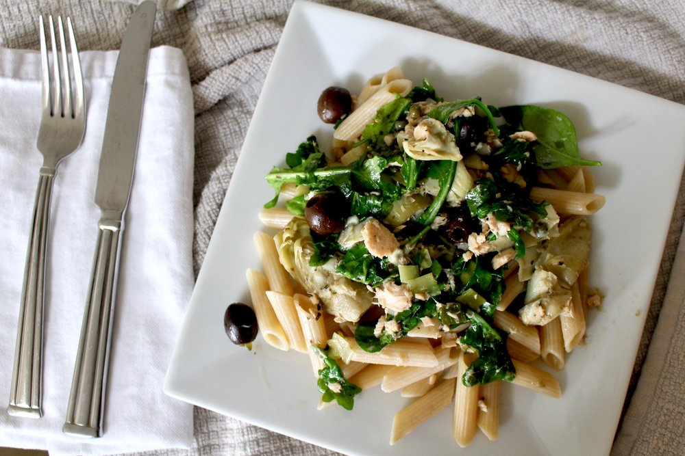 TUNA PASTA / MEAT FREE / LENTEN MEAL / FOOD / RECIPE / nicolemcaruso.com
