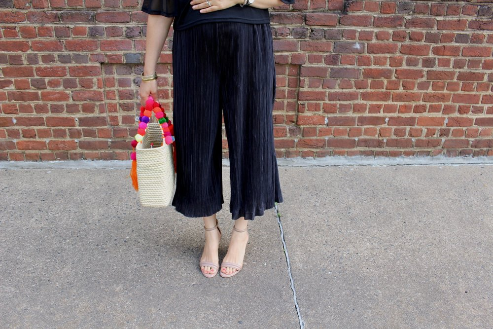 THAT BLACK JUMPSUIT / SUMMER STYLE / PREGNANCY STYLE / MATERNITY STYLE / FASHION / NICOLEMCARUSO.COM