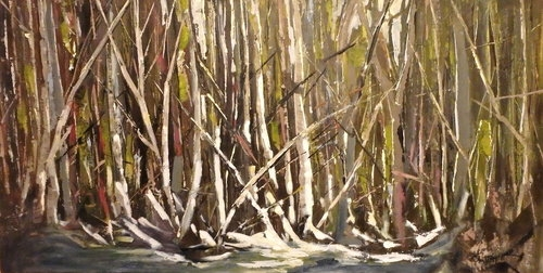 FOREST LIGHT 18x36 S0LD
