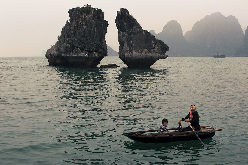 The Halong Bay, Vietnam 2014