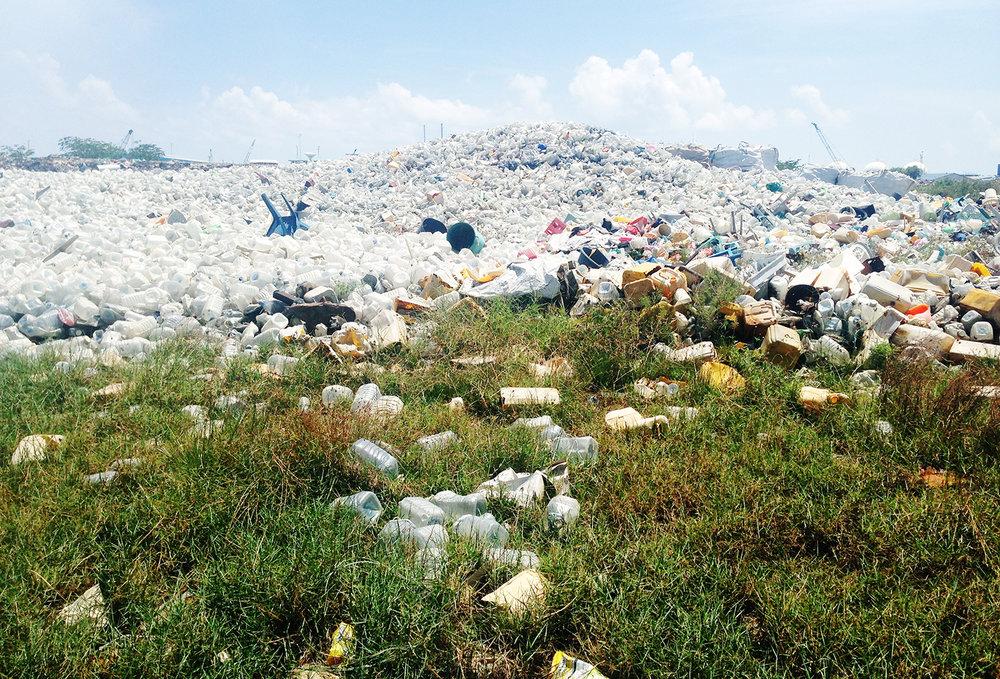 Garbage Island, Thilafushi, Maldives 2016