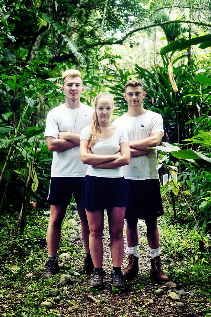 Volunteer Crew: Jack, Lea, Charlie