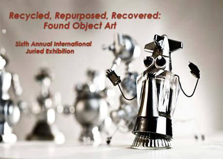 The A.D. Gallery is pleased to present a juried exhibition that offers a progressive, contemporary approach to found object art, exploring a wide range of means to recycle or repurpose otherwise discarded or used objects. Participating artists: Eric Banks, Anne Bascove, Laura Bell and Ian Ganassi, Hwa Young Caruso, Eric Celarier, Jessica Dupuis, Jennifer Dwyer, Anita Funston, Don Griffin, Gina Herrera, Leatha Koefler, Niki Lederer, Rodrigo Lopez, Neil Mclean, Greg Mueller, Julie Eisenberg Pitman, Maria Elena Pombo, Jayson Randall, Melquiades Rosario-Sastre, Martin Settle, Nicholas Sorlien, Katie Simpson Spain, Sarah Trahan, Stewart Watson, Riva Weinstein, Joan Wheeler, Carolin Wood, Zach Zecha On View: January 11 through February 10, 2016 Opening Reception: Thursday, January 14, 3:00-4:30pm